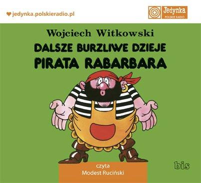 Dalsze burzliwe dzieje pirata Rabarbara - Audiobook (Książka audio MP3) do pobrania w całości w archiwum ZIP