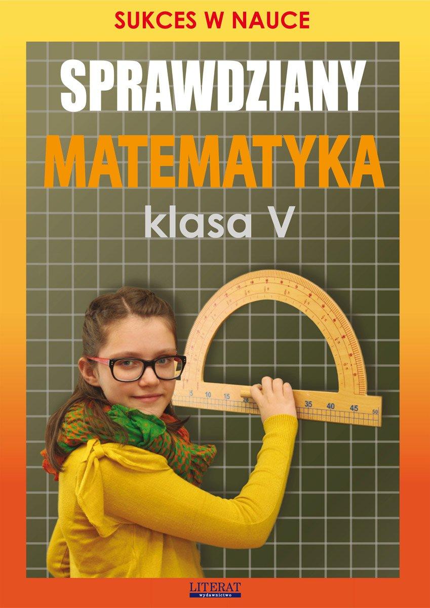 Sprawdziany. Matematyka. Klasa V. Sukces w nauce - Ebook (Książka PDF) do pobrania w formacie PDF