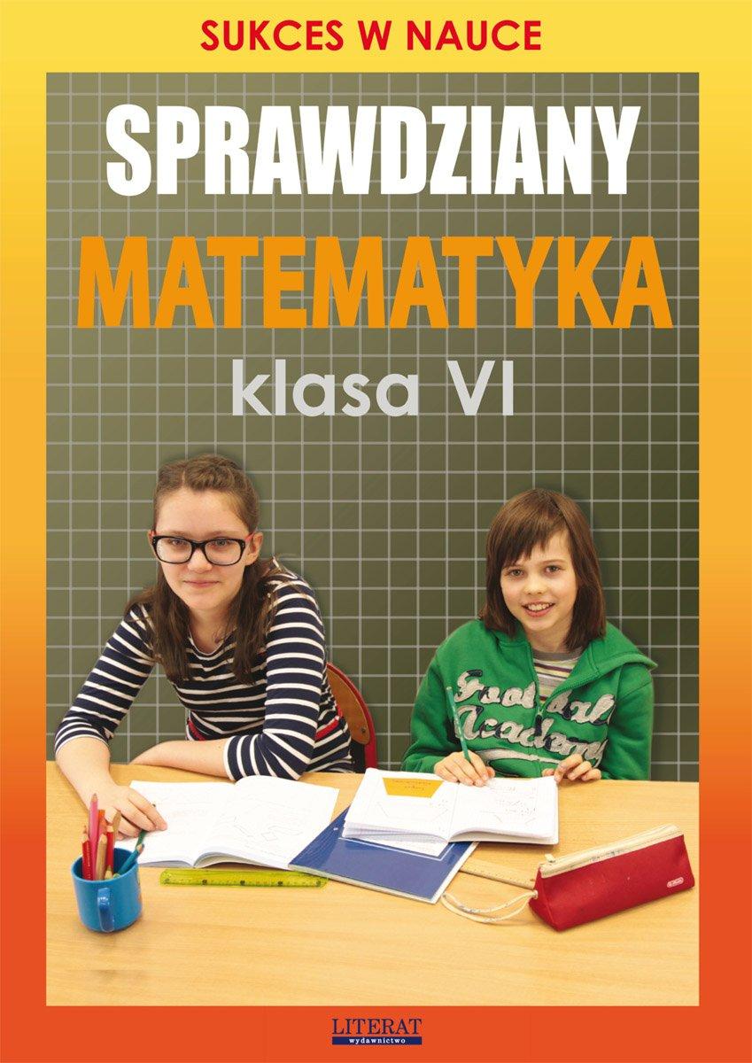Sprawdziany. Matematyka. Klasa VI. Sukces w nauce - Ebook (Książka PDF) do pobrania w formacie PDF