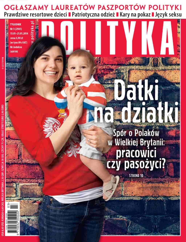 Polityka nr 3/2014 - Ebook (Książka PDF) do pobrania w formacie PDF