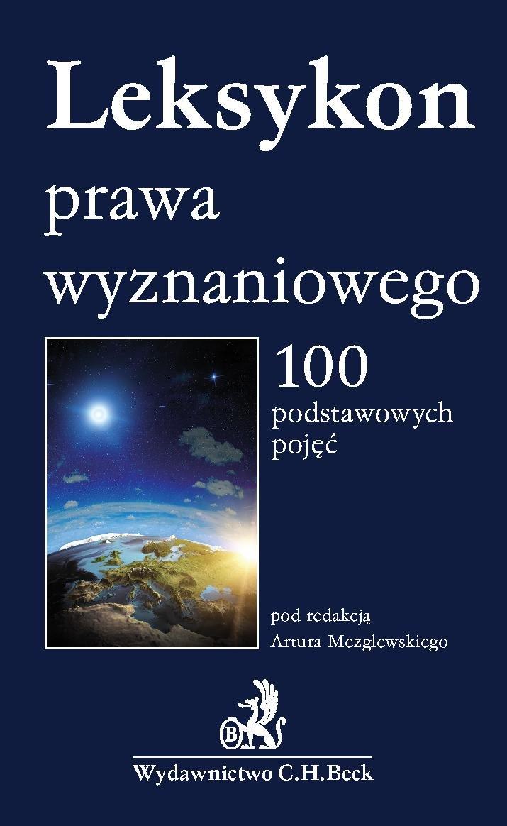 Leksykon prawa wyznaniowego - Ebook (Książka PDF) do pobrania w formacie PDF
