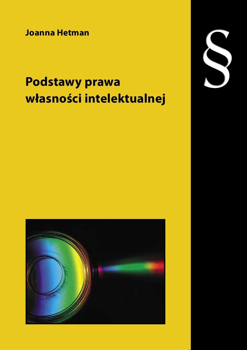 Podstawy prawa własności intelektualnej - Ebook (Książka PDF) do pobrania w formacie PDF