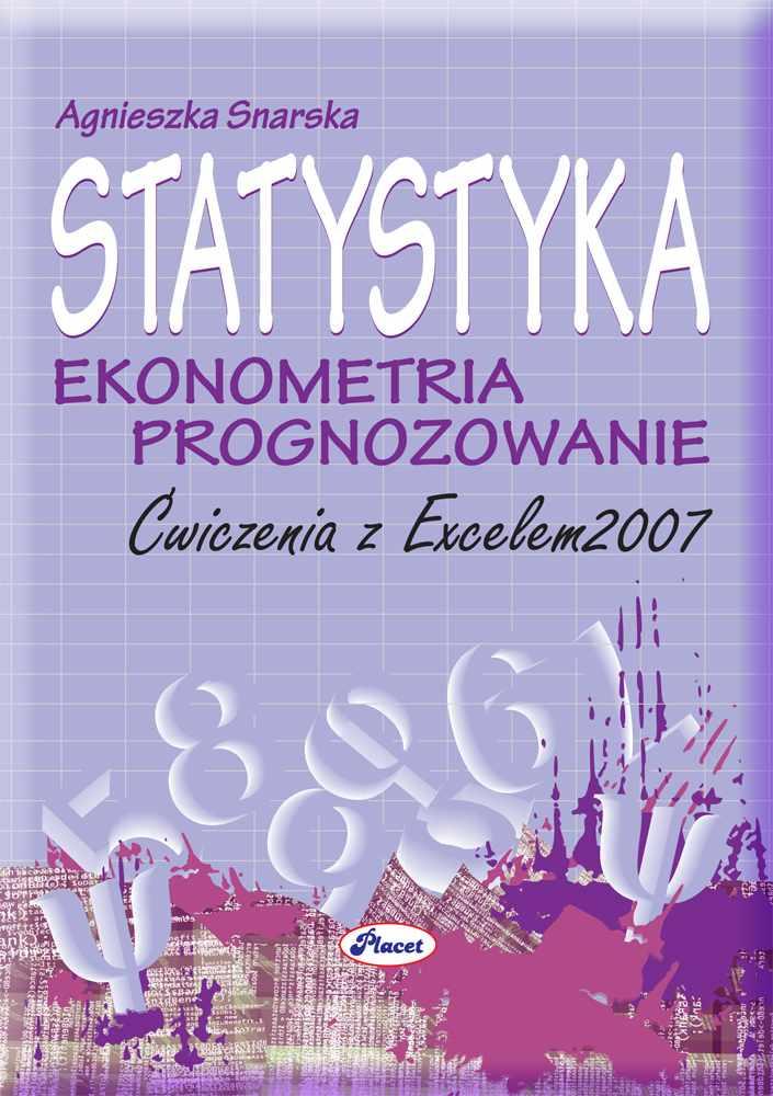 Statystyka ekonometria prognozowanie - Ebook (Książka PDF) do pobrania w formacie PDF