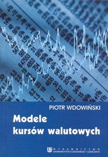 Modele kursów walutowych - Ebook (Książka PDF) do pobrania w formacie PDF
