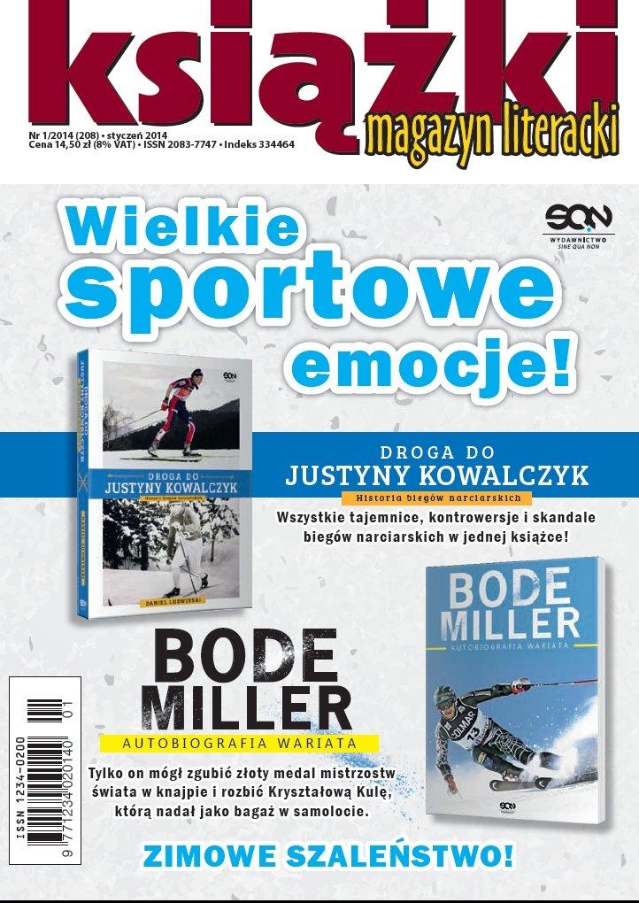 Magazyn Literacki KSIĄŻKI 1/2014 - Ebook (Książka PDF) do pobrania w formacie PDF