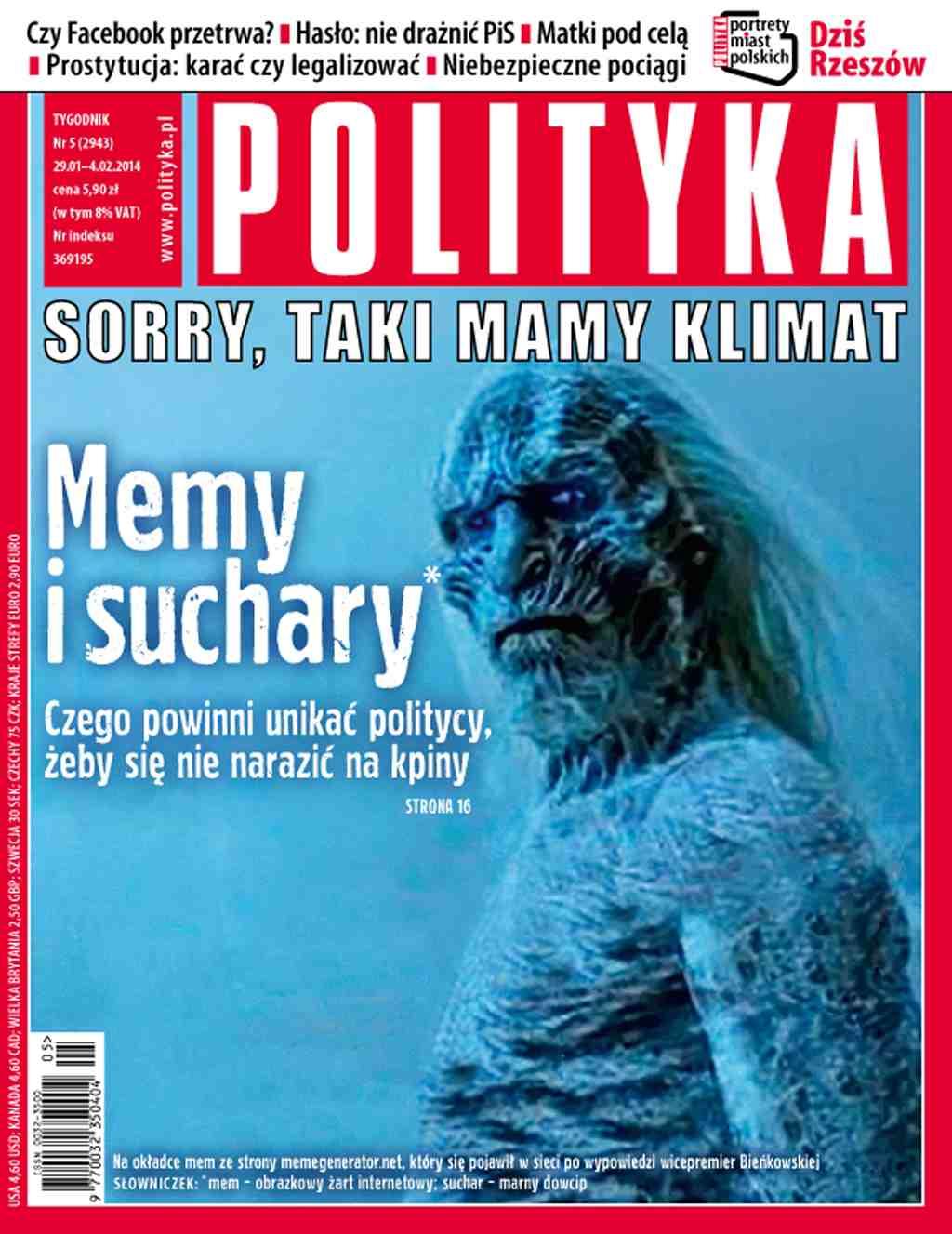 Polityka nr 5/2014 - Ebook (Książka PDF) do pobrania w formacie PDF