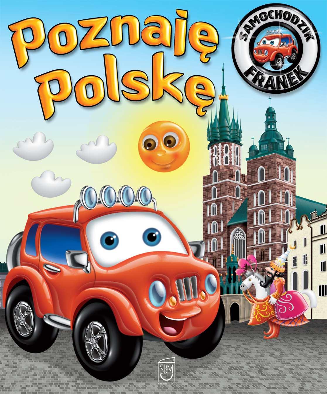 Samochodzik Franek. Poznaję Polskę - Ebook (Książka PDF) do pobrania w formacie PDF