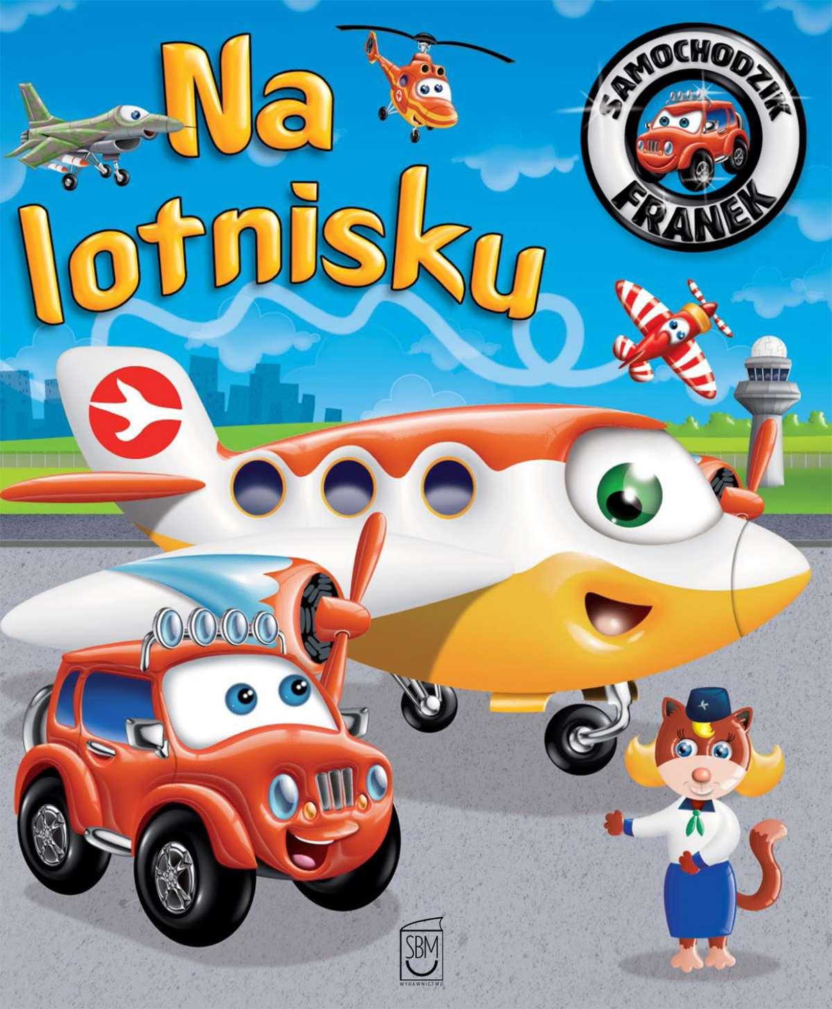 Samochodzik Franek. Na lotnisku - Ebook (Książka PDF) do pobrania w formacie PDF