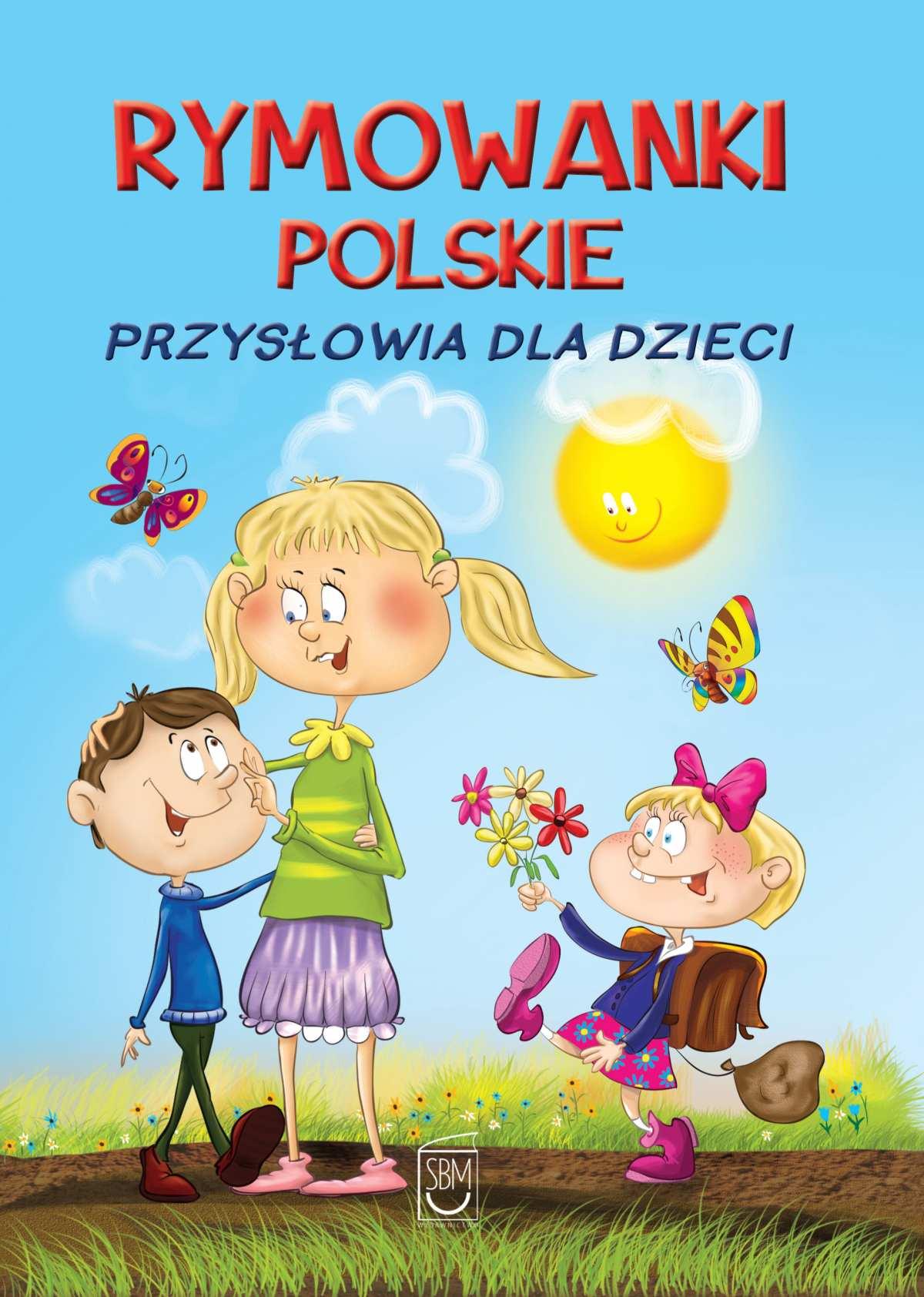 Rymowanki polskie. Przysłowia dla dzieci - Ebook (Książka PDF) do pobrania w formacie PDF