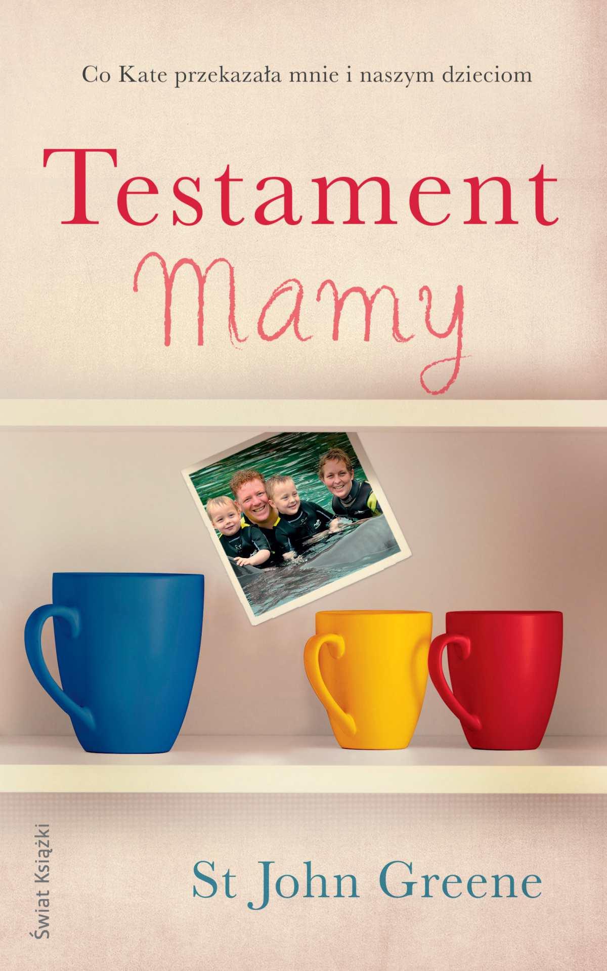 Testament Mamy - Ebook (Książka na Kindle) do pobrania w formacie MOBI