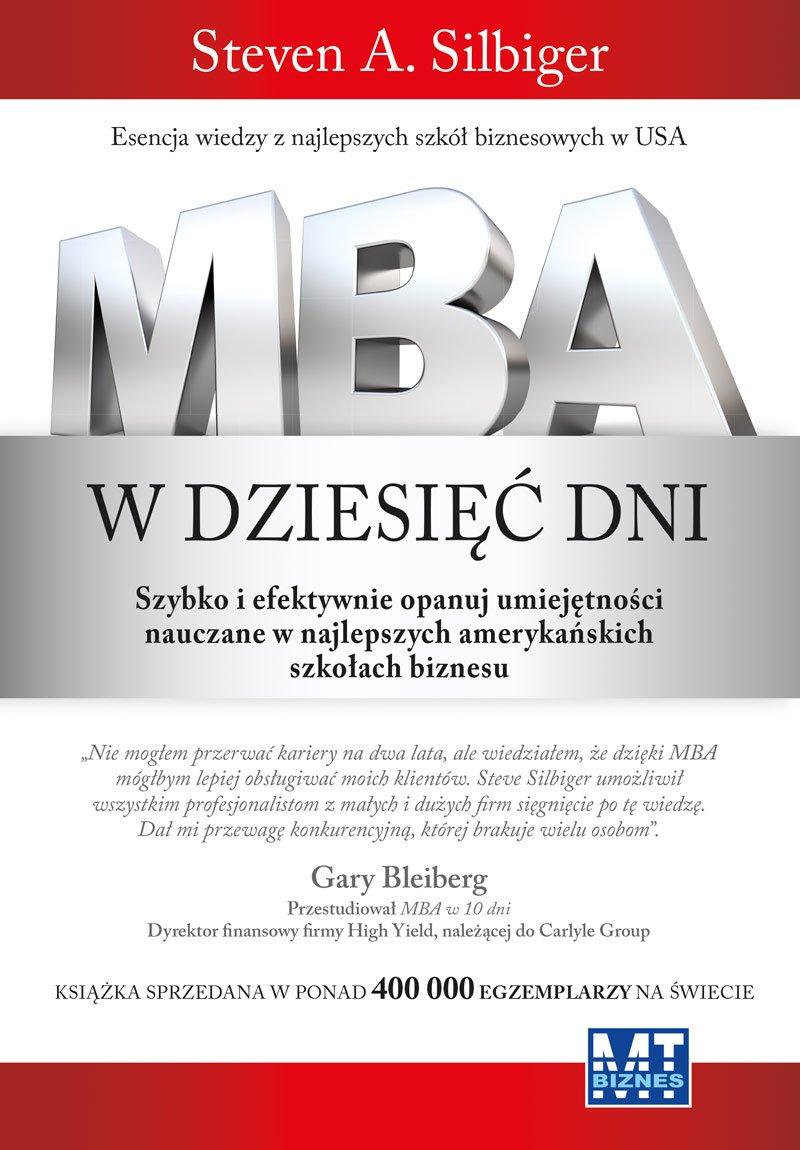 MBA w dziesięć dni - Ebook (Książka EPUB) do pobrania w formacie EPUB