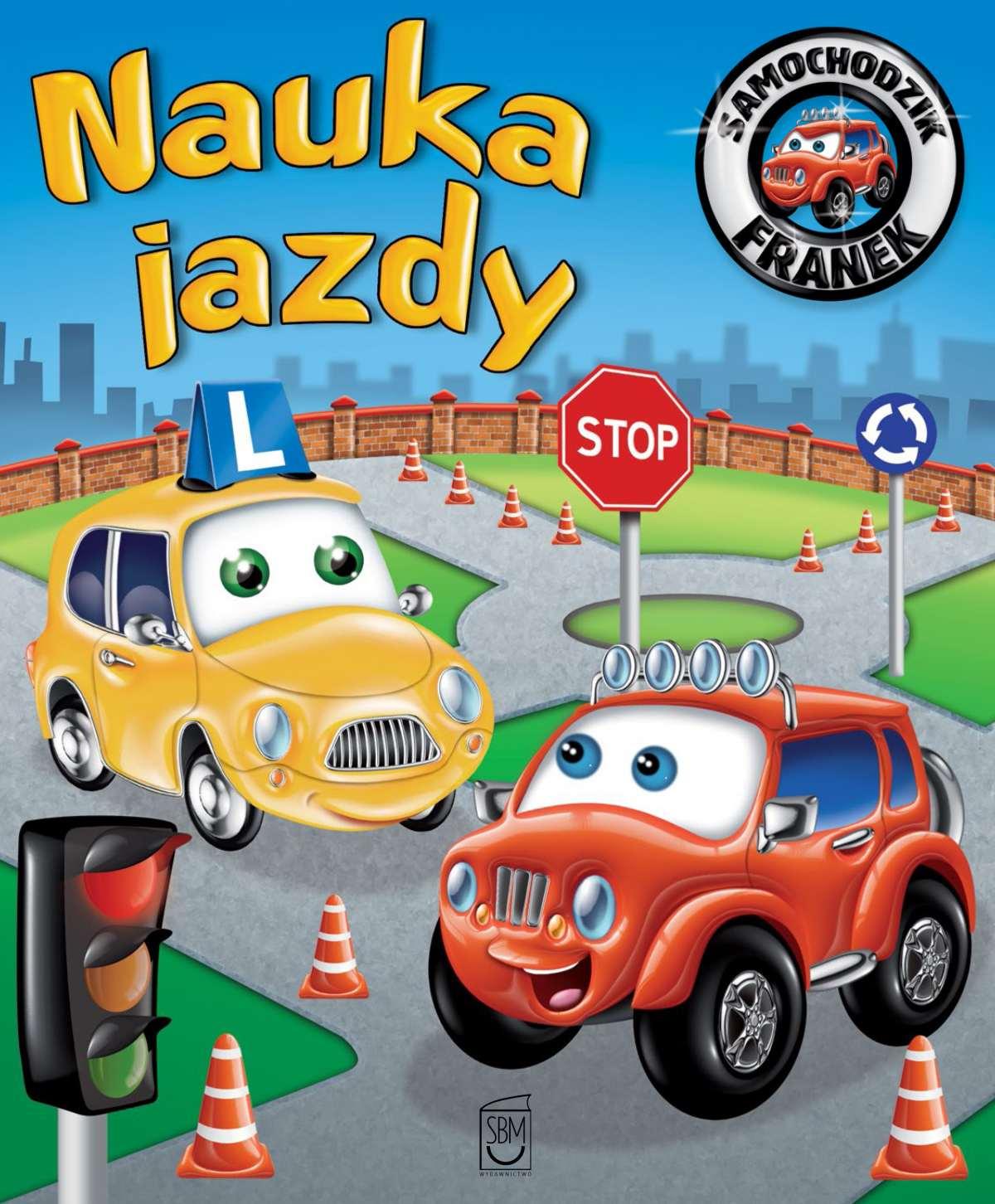 Samochodzik Franek. Nauka jazdy - Ebook (Książka PDF) do pobrania w formacie PDF