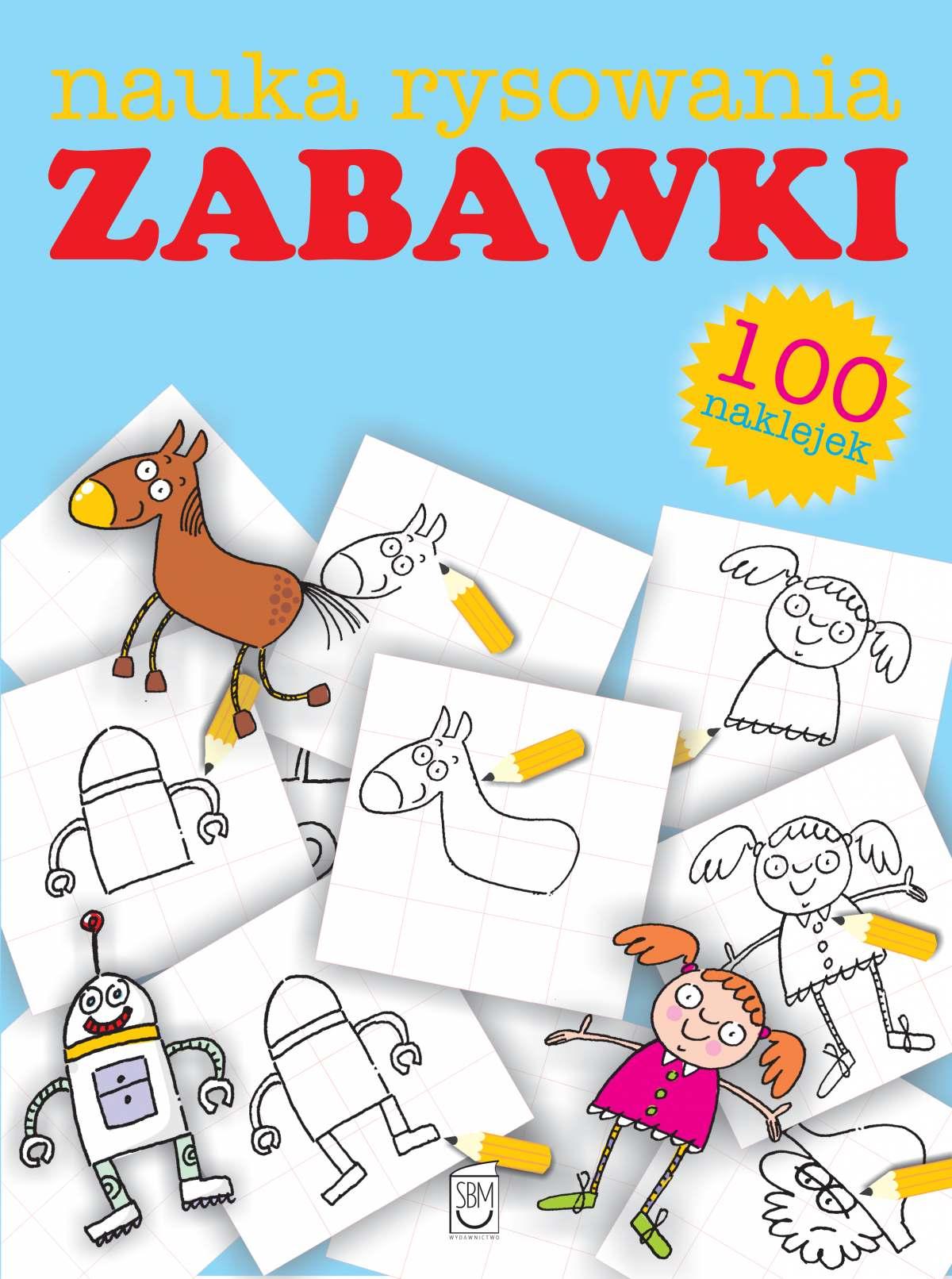 Zabawki. Nauka rysowania - Ebook (Książka PDF) do pobrania w formacie PDF