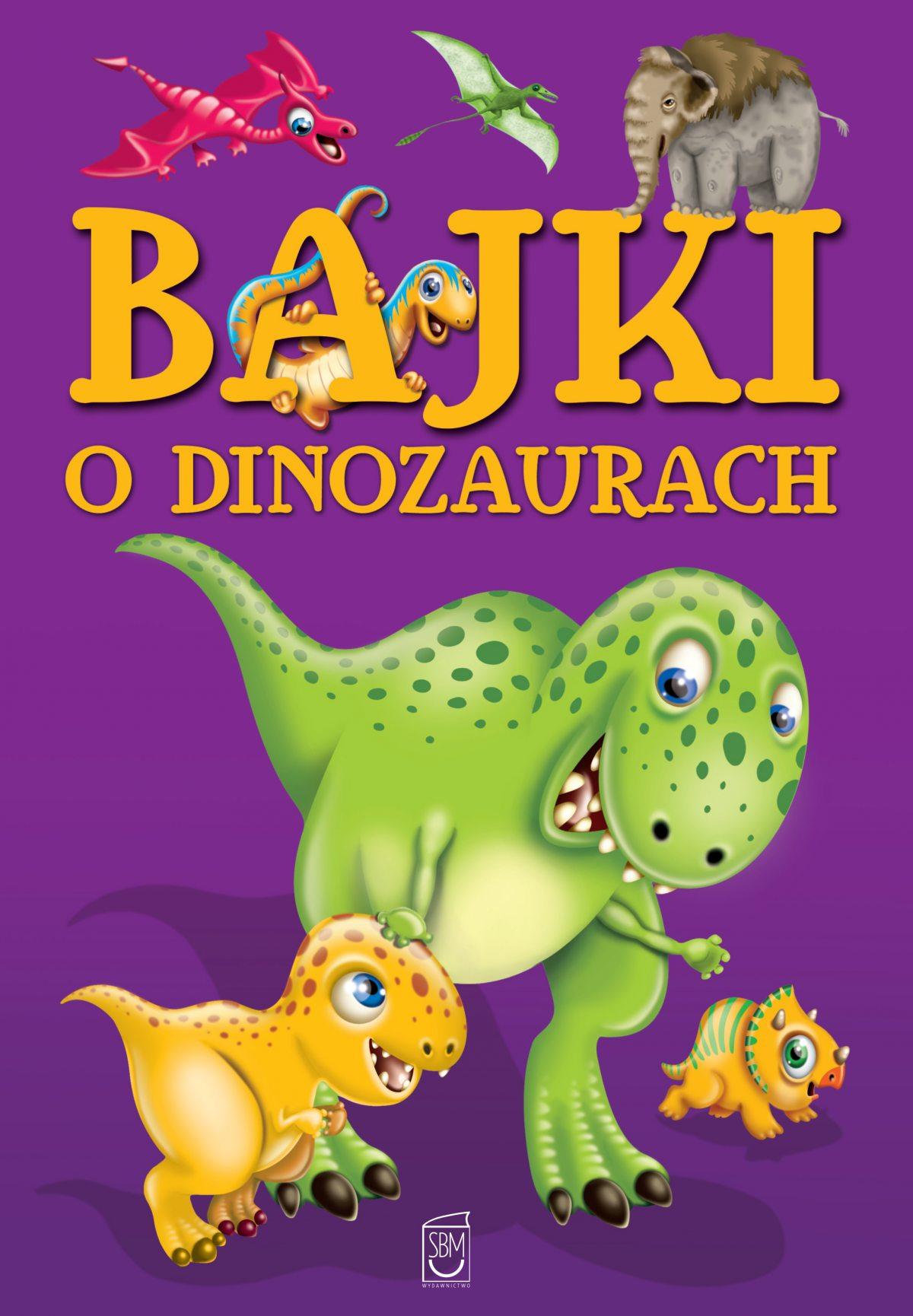 Bajki o dinozaurach - Ebook (Książka EPUB) do pobrania w formacie EPUB