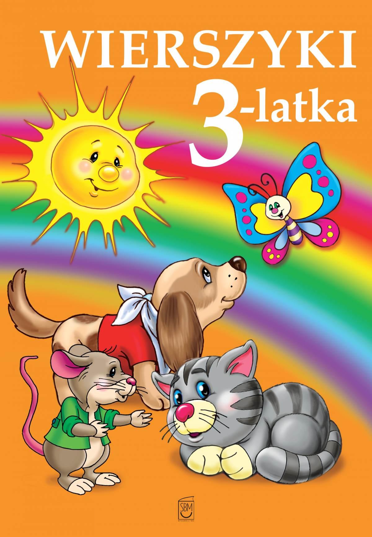 Wierszyki 3-latka - Ebook (Książka PDF) do pobrania w formacie PDF