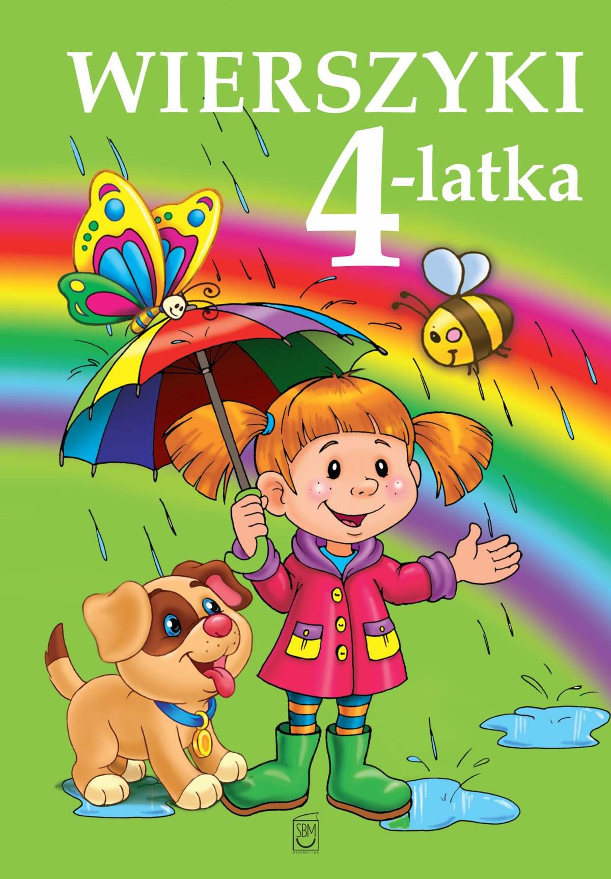 Wierszyki 4-latka - Ebook (Książka PDF) do pobrania w formacie PDF
