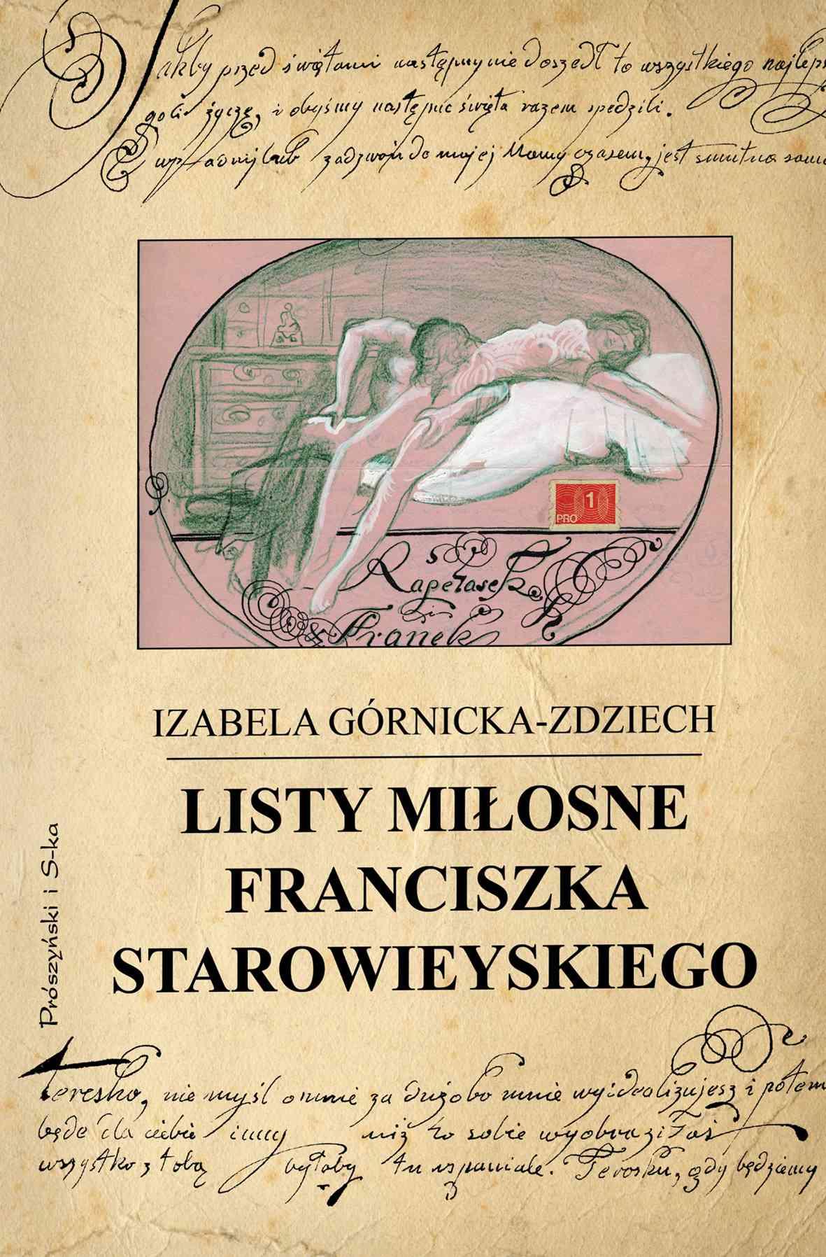 Listy miłosne Franciszka Starowieyskiego - Ebook (Książka EPUB) do pobrania w formacie EPUB