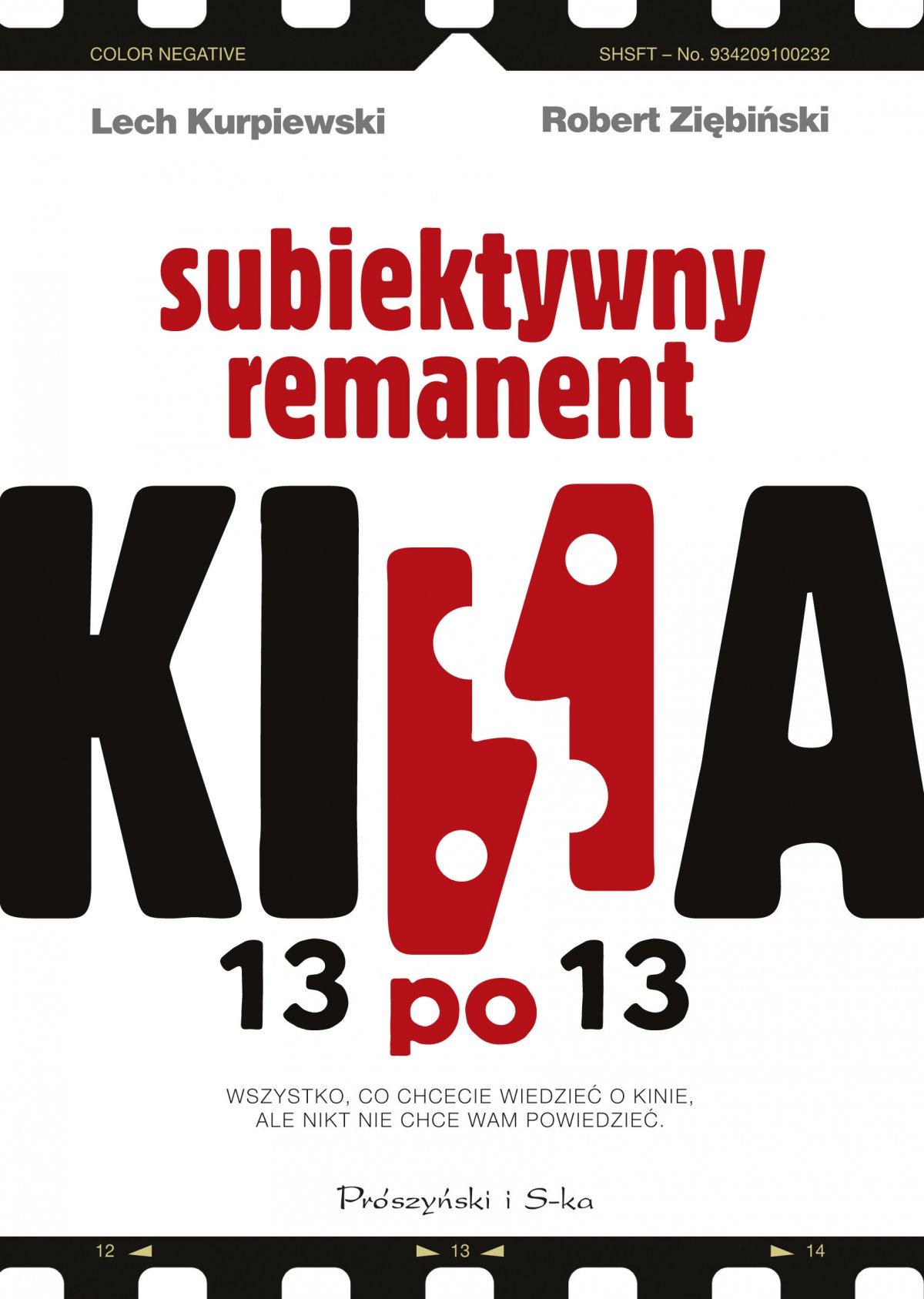 13 po 13. Subiektywny remanent kina - Ebook (Książka EPUB) do pobrania w formacie EPUB
