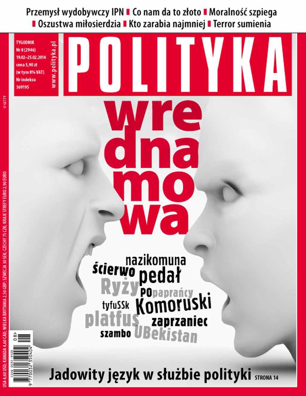 Polityka nr 8/2014 - Ebook (Książka PDF) do pobrania w formacie PDF