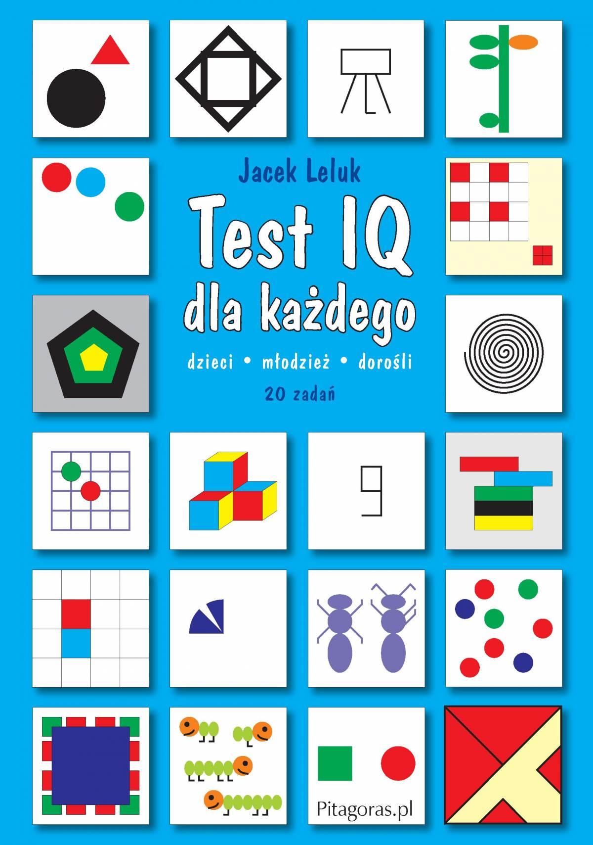 Test IQ dla każdego - Ebook (Książka PDF) do pobrania w formacie PDF