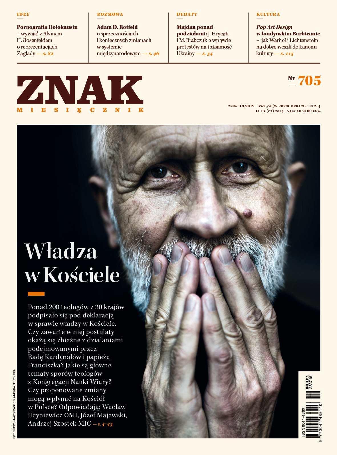 Miesięcznik Znak. Luty 2014 - Ebook (Książka EPUB) do pobrania w formacie EPUB