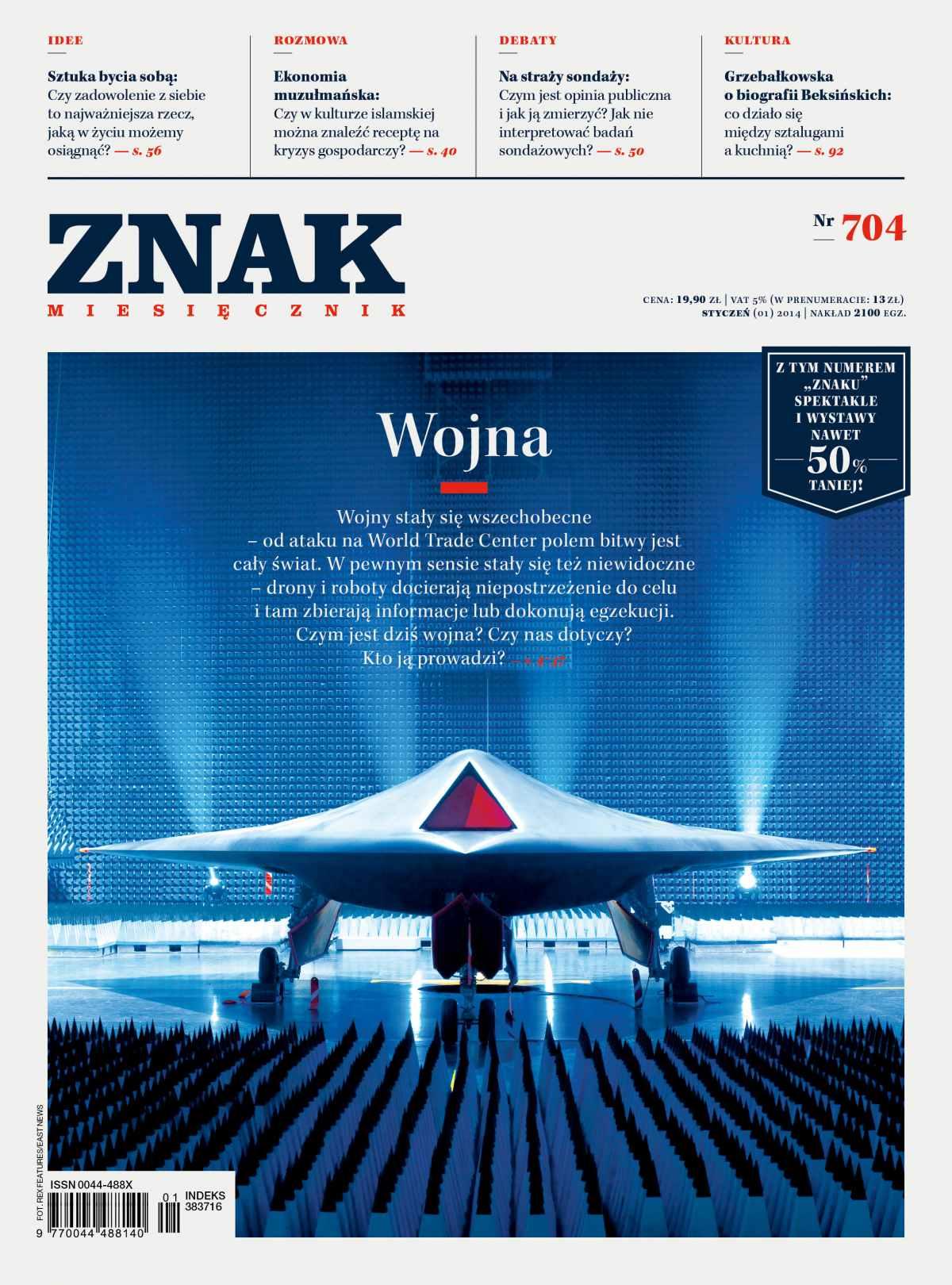 Miesięcznik Znak. Styczeń 2014 - Ebook (Książka EPUB) do pobrania w formacie EPUB