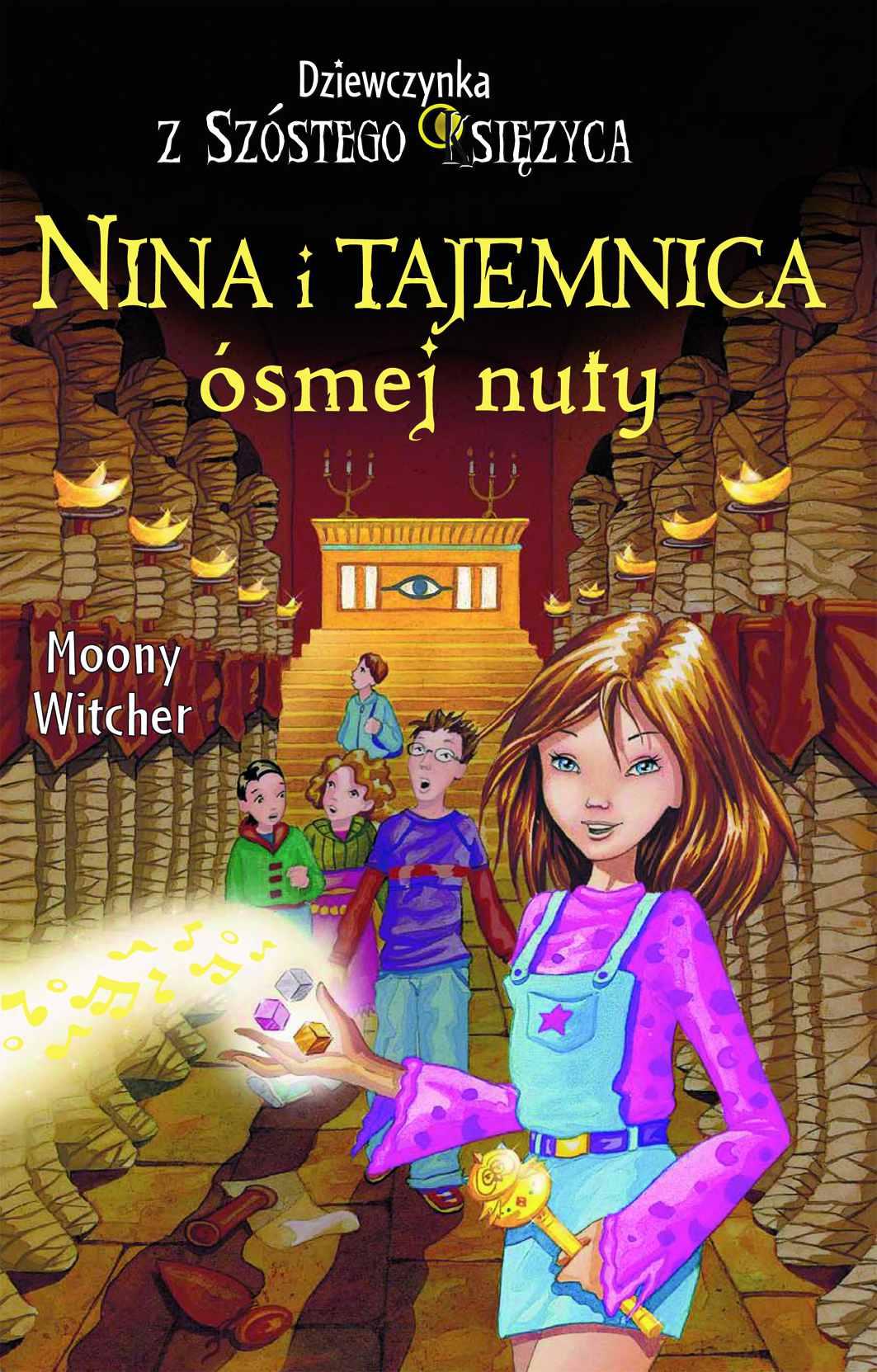 Nina i Tajemnica ósmej nuty - Ebook (Książka na Kindle) do pobrania w formacie MOBI