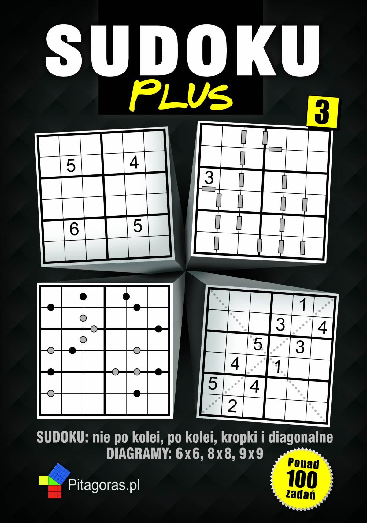 SUDOKU Plus 3 - Ebook (Książka PDF) do pobrania w formacie PDF