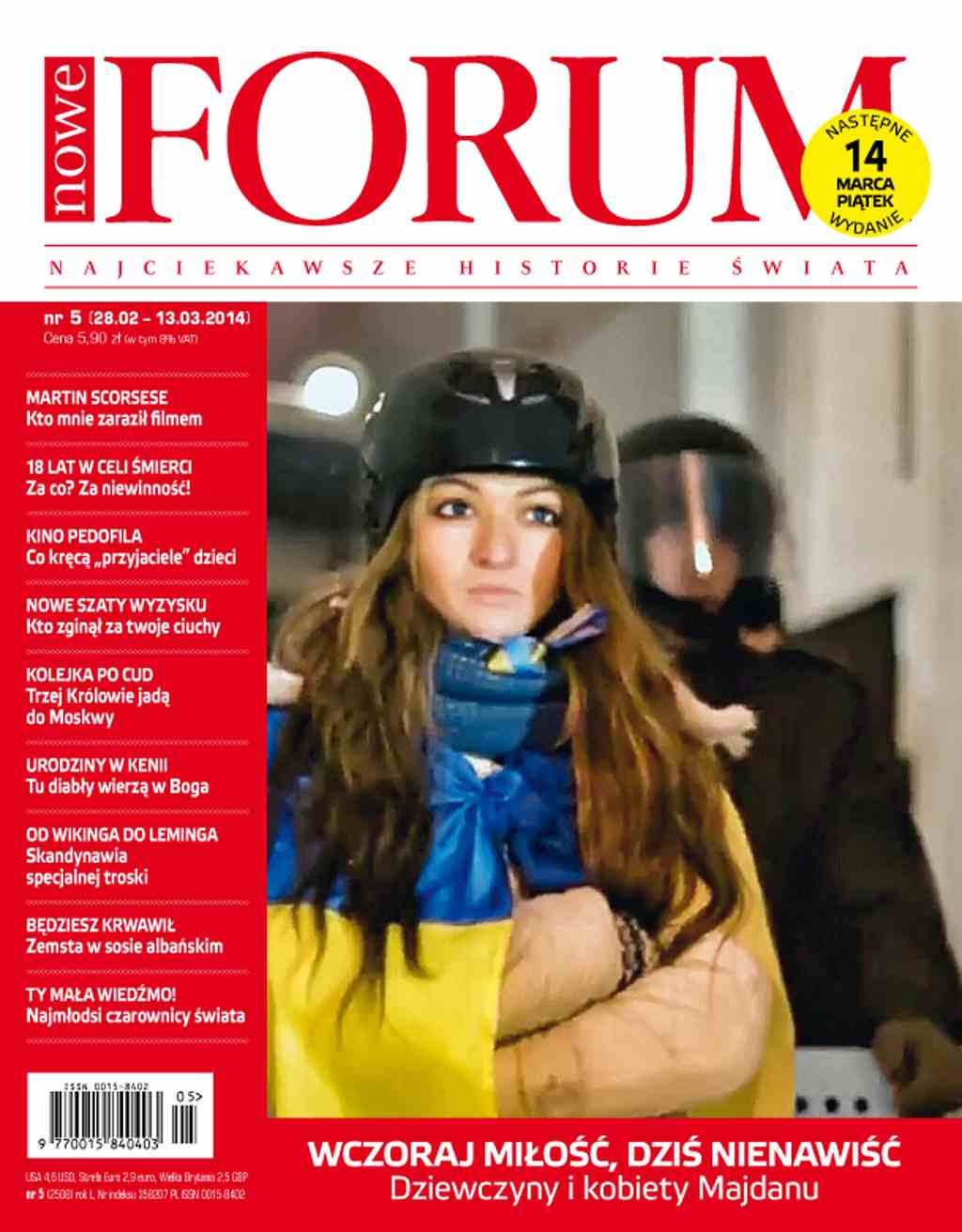 Forum nr 5/2014 - Ebook (Książka PDF) do pobrania w formacie PDF