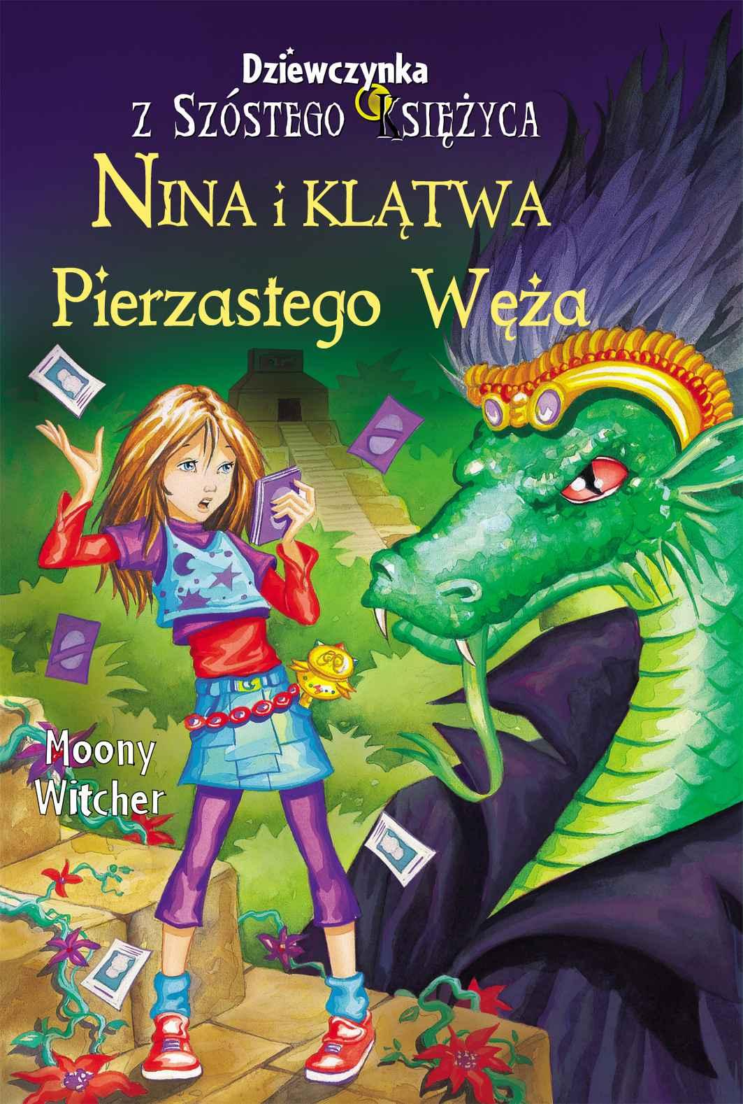 Nina i klątwa Pierzastego Węża - Ebook (Książka na Kindle) do pobrania w formacie MOBI