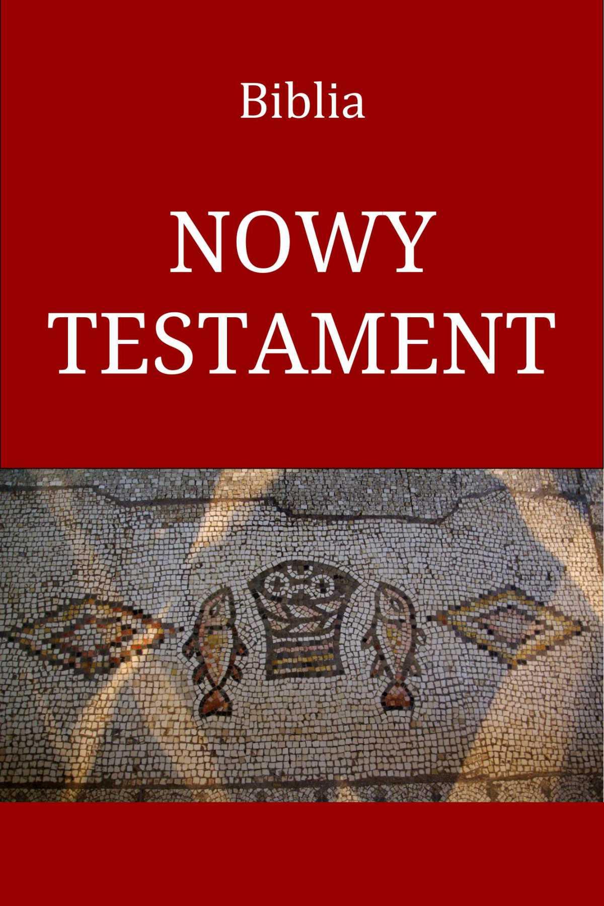Biblia. Nowy Testament - Ebook (Książka na Kindle) do pobrania w formacie MOBI