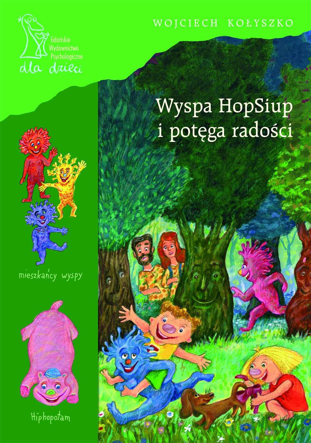 Wyspa HopSiup i potęga radości - Ebook (Książka PDF) do pobrania w formacie PDF
