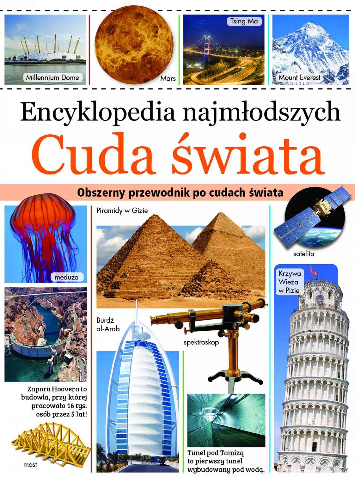 Encyklopedia najmłodszych. Cuda świata - Ebook (Książka PDF) do pobrania w formacie PDF
