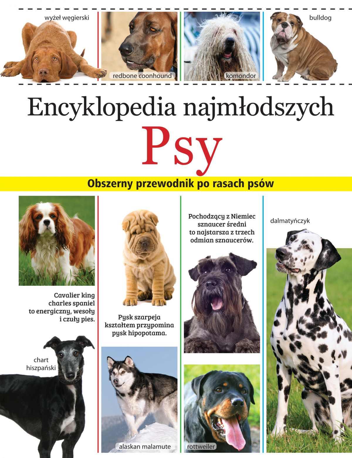 Encyklopedia najmłodszych. Psy - Ebook (Książka PDF) do pobrania w formacie PDF