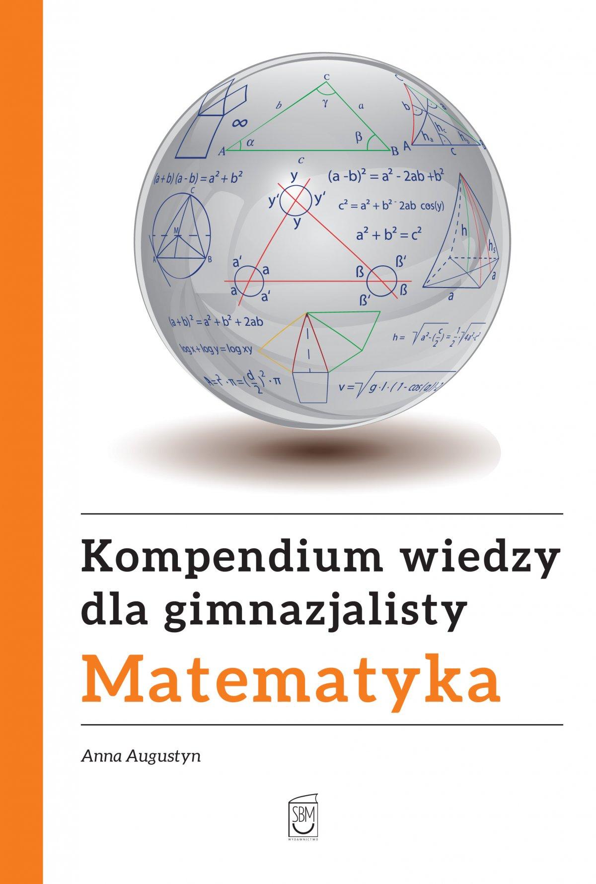 Kompendium wiedzy gimnazjalisty. Matematyka - Ebook (Książka PDF) do pobrania w formacie PDF