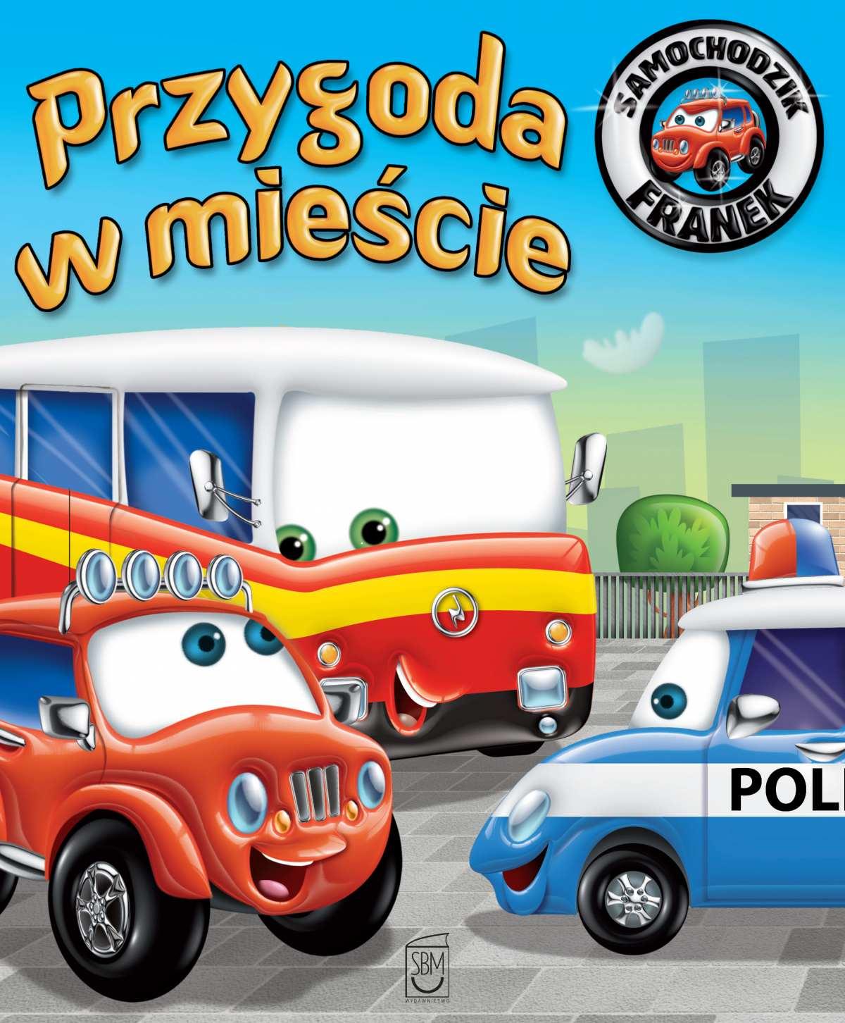 Samochodzik Franek. Przygoda w mieście - Ebook (Książka PDF) do pobrania w formacie PDF