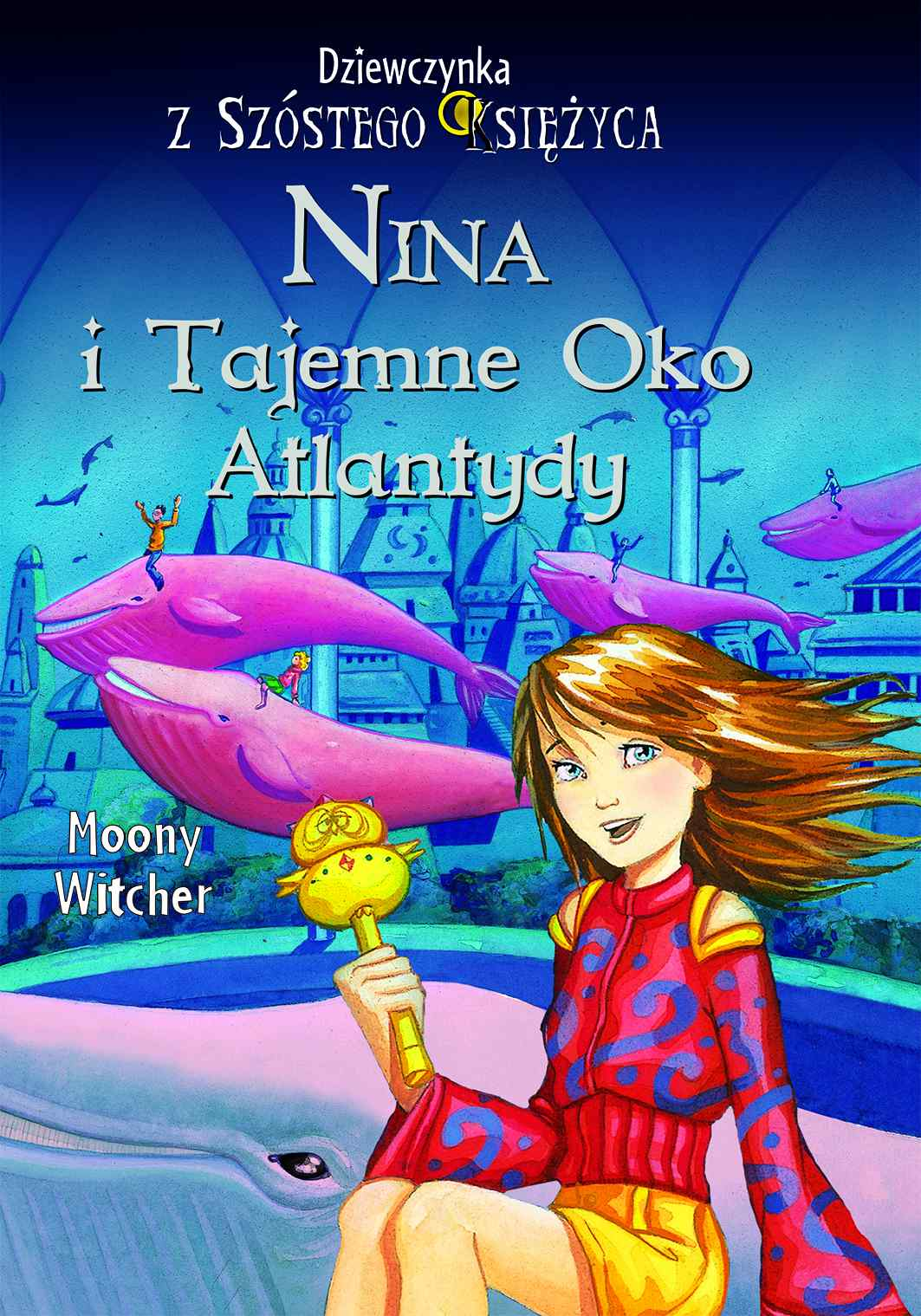 Nina i tajemne Oko Atlantydy - Ebook (Książka na Kindle) do pobrania w formacie MOBI