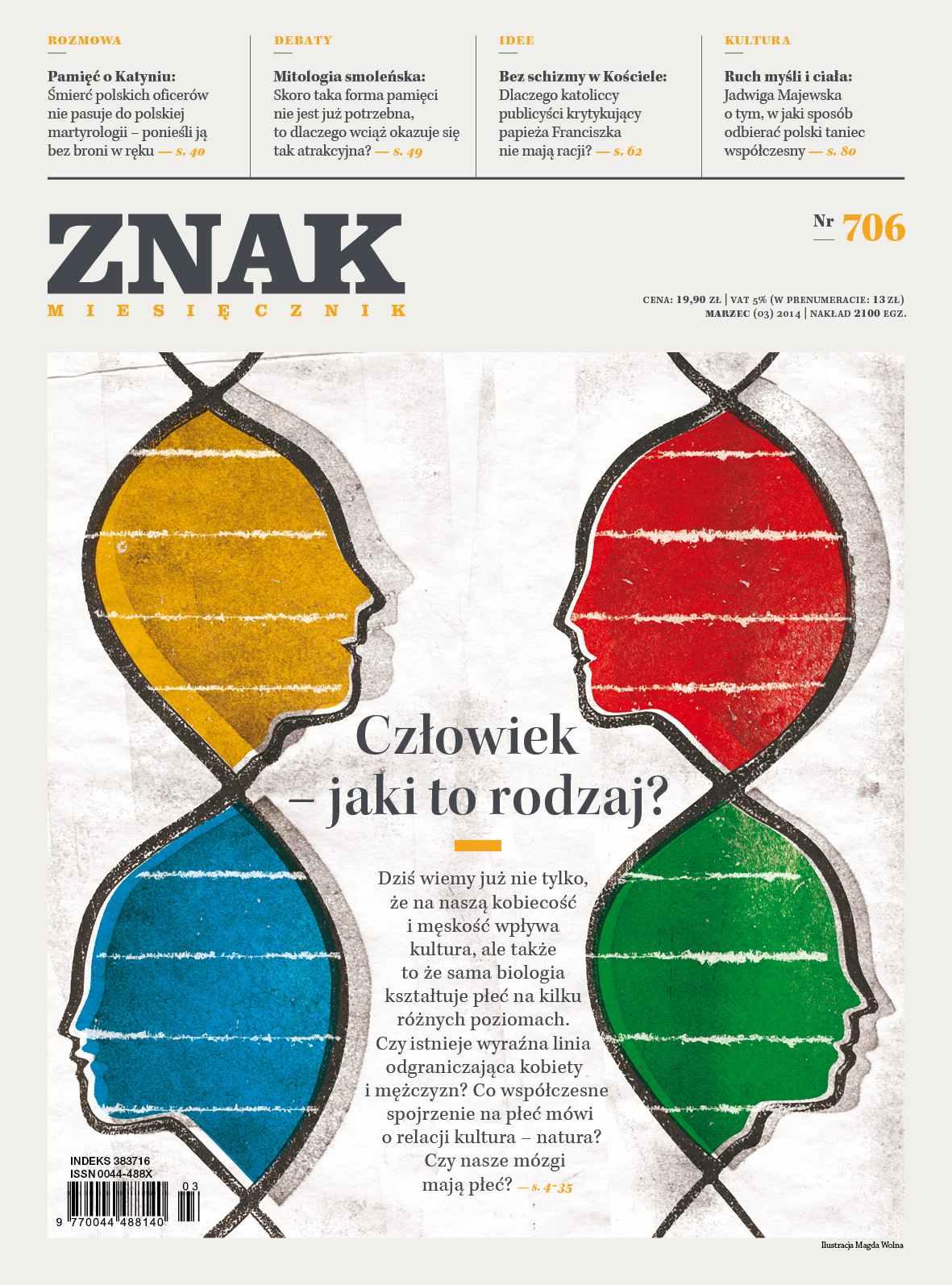 Miesięcznik Znak. Marzec 2014 - Ebook (Książka EPUB) do pobrania w formacie EPUB
