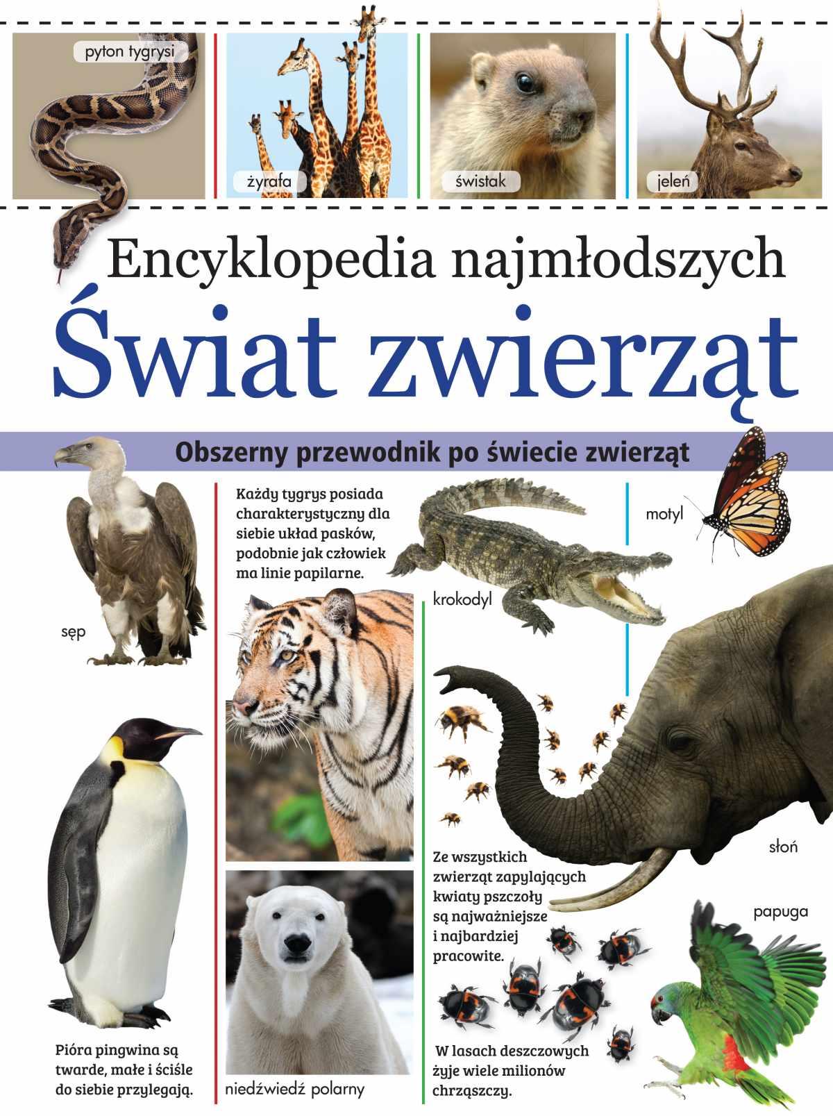 Encyklopedia najmłodszych. Świat zwierząt - Ebook (Książka PDF) do pobrania w formacie PDF