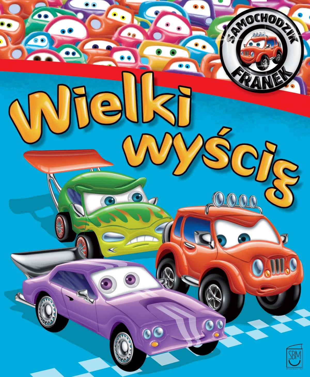 Samochodzik Franek. Wielki wyścig - Ebook (Książka PDF) do pobrania w formacie PDF