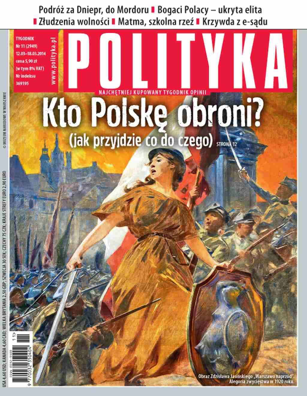 Polityka nr 11/2014 - Ebook (Książka PDF) do pobrania w formacie PDF