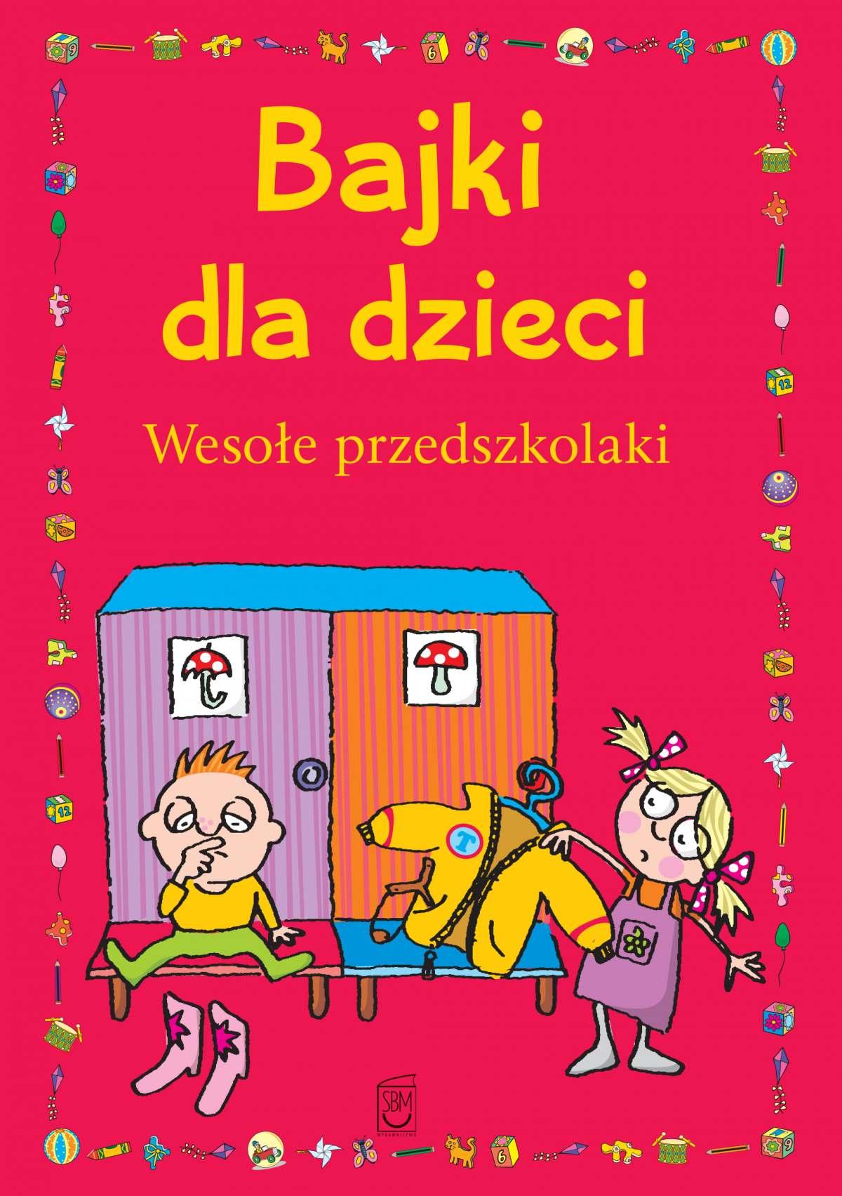 Bajki dla dzieci. Wesołe przedszkolaki - Ebook (Książka na Kindle) do pobrania w formacie MOBI