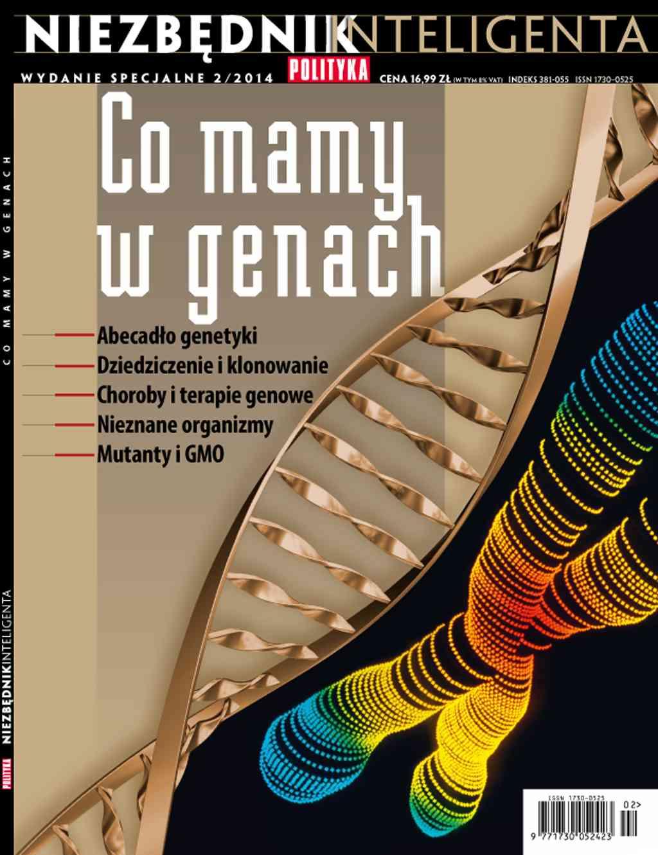 Niezbędnik inteligenta: Co mamy w genach - Ebook (Książka PDF) do pobrania w formacie PDF