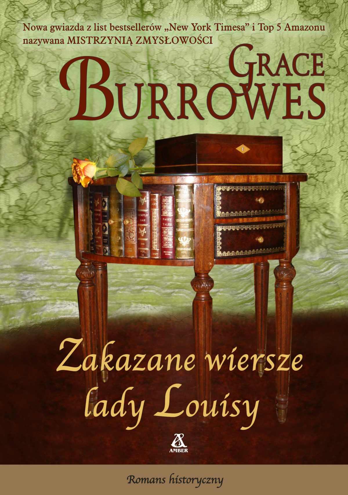 Zakazane wiersze lady Louisy - Grace Burrowes