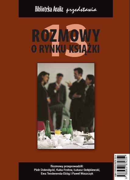 Rozmowy o rynku książki 13 - Ebook (Książka PDF) do pobrania w formacie PDF