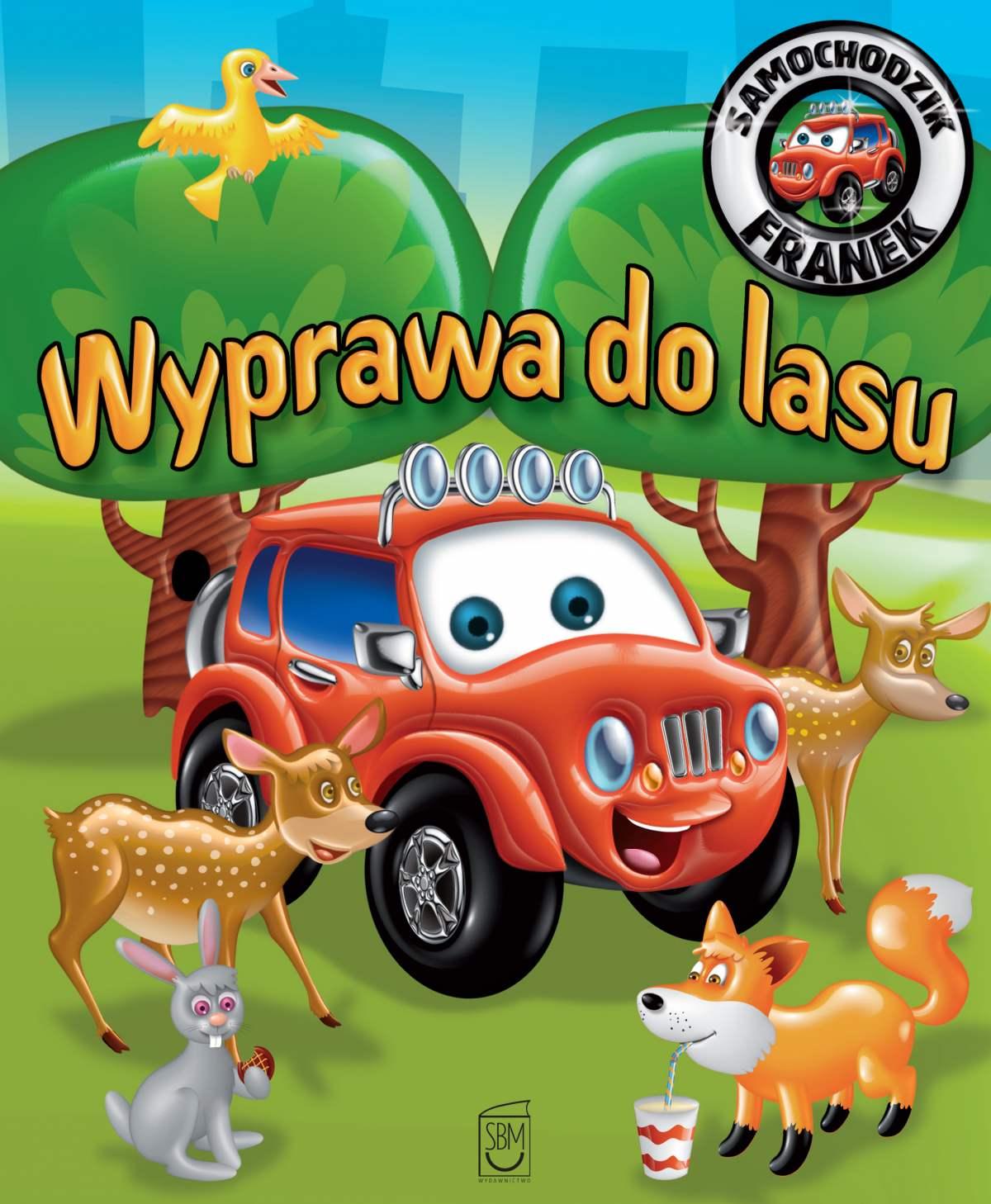 Samochodzik Franek. Wyprawa do lasu - Ebook (Książka PDF) do pobrania w formacie PDF