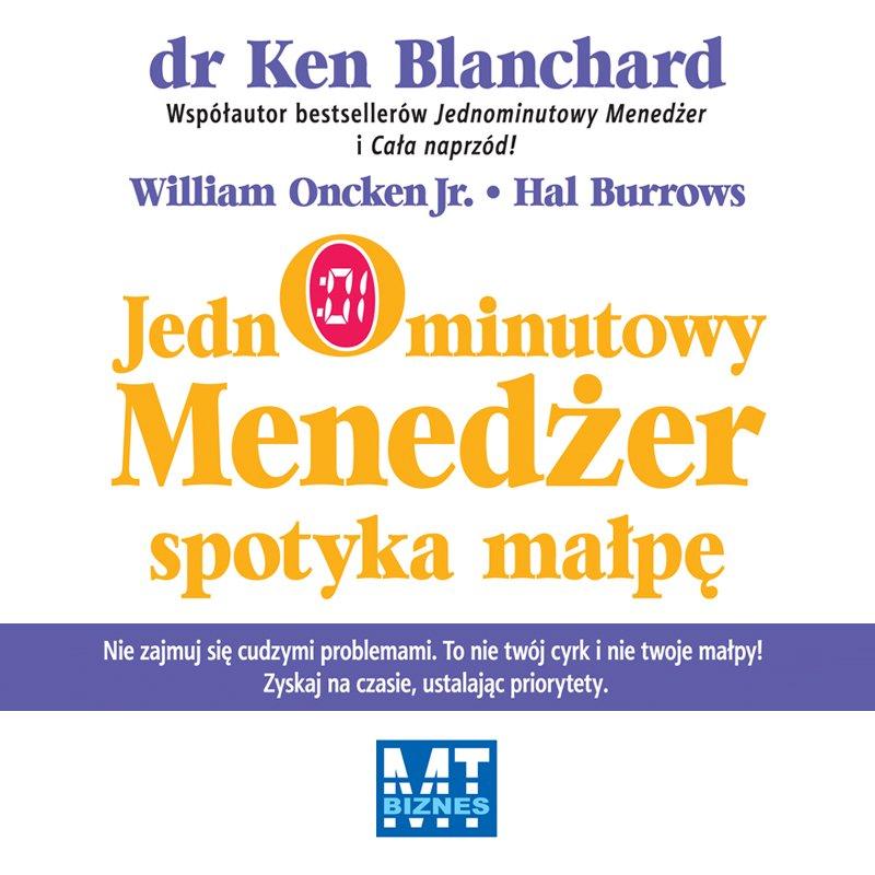 Jednominutowy menedżer spotyka małpę - Audiobook (Książka audio MP3) do pobrania w całości w archiwum ZIP