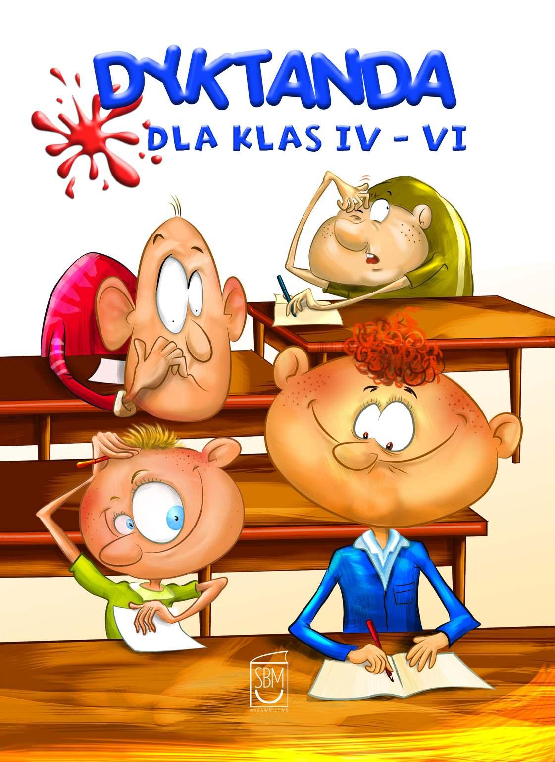 Dyktanda dla klas IV-VI - Ebook (Książka na Kindle) do pobrania w formacie MOBI