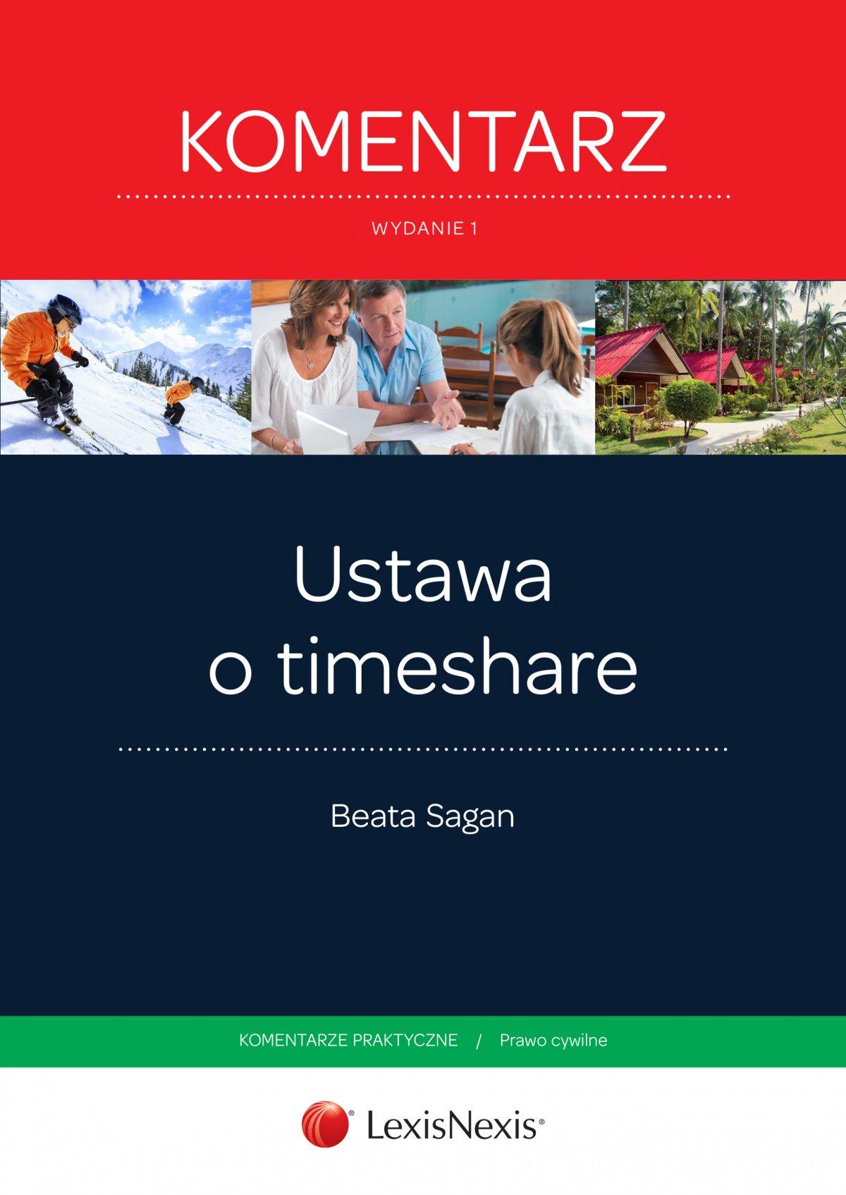 Ustawa o timeshare. Komentarz. Wydanie 1 - Ebook (Książka EPUB) do pobrania w formacie EPUB
