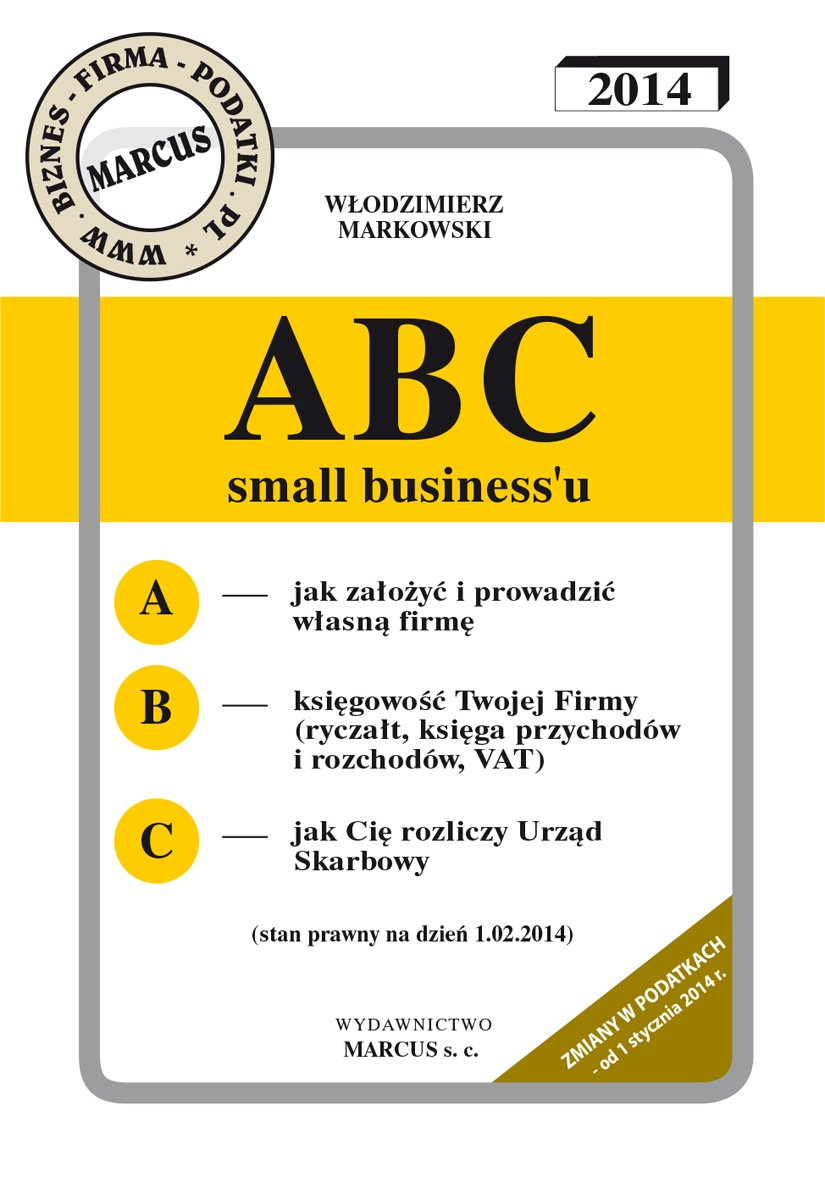ABC small business'u 2014 - Ebook (Książka na Kindle) do pobrania w formacie MOBI